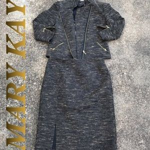 Mary Kay Woman's Blazor Skirt Suit by Twinhill